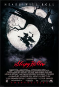 """Movie Posters:Fantasy, Sleepy Hollow (Paramount, 1999). One Sheets (2) (27"""" X 40"""") SS Teaser & Advance. Fantasy.. ... (Total: 2 Items)"""