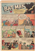 Golden Age (1938-1955):Superhero, Detective Comics #27 (DC, 1939) Condition: Coverless and Missing Centerfold....