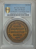 Expositions and Fairs, 1893 World's Columbian Exposition, Official Medal, Type Two,HK-155, MS64 PCGS. Brass....