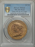 Expositions and Fairs, 1898 Trans-Mississippi & International Exposition, Official Medal, HK-283, MS64 PCGS. Brass. ...