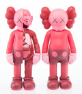 Fine Art - Sculpture, American:Contemporary (1950 to present), KAWS (b. 1974). Companion (Open Edition) (two works), 2016. Painted cast vinyl. 11 x 4-1/2 inches (27.9 x 11.4 cm) (each... (Total: 2 Items)