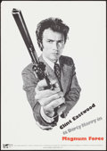 "Movie Posters:Action, Magnum Force (Warner Brothers, 1973). Rolled, Very Fine-.Promotional Poster (19.75"" X 28""). Action.. ..."