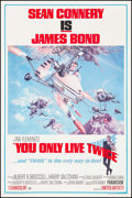 """Movie Posters:James Bond, You Only Live Twice (United Artists, 1967). One Sheet (27"""" X 41"""") Style B. James Bond.. ..."""