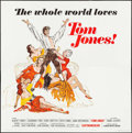"Movie Posters:Academy Award Winners, Tom Jones (United Artists, 1963). International Six Sheet (79.5"" X80""). Flat Folded. Academy Award Winners.. ..."