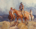 Fine Art - Painting, American, Suzanne Baker (American, b. 1939). Mountain Ride, 1993. Oilon canvas. 26 x 32 inches (66.0 x 81.3 cm). Signed and dated...