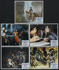 """Movie Posters:Fantasy, The Golden Voyage of Sinbad (Columbia, 1973). Lobby Cards (5) (11""""X 14""""). Fantasy Adventure. Starring John Phillip Law, Car...(Total: 5 Items)"""