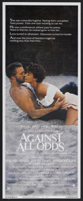 "Movie Posters:Adventure, Against All Odds (Columbia, 1984). Insert (14"" X 36""). Film Noir.Starring Jeff Bridges, Rachel Ward, James Woods, Alex Karr..."