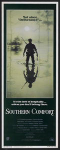 """Southern Comfort (20th Century Fox, 1981). Insert (14"""" X 36""""). Thriller. Starring Keith Carradine, Powers Boot..."""