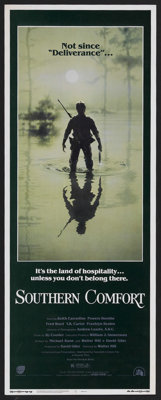 "Southern Comfort (20th Century Fox, 1981). Insert (14"" X 36""). Thriller. Starring Keith Carradine, Powers Boot..."