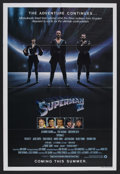 "Movie Posters:Action, Superman II (Warner Brothers, 1980). One Sheet (27"" X 41"") Advance.Action. Starring Gene Hackman, Christopher Reeve, Jackie..."