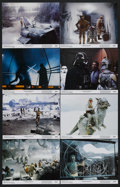 "Movie Posters:Science Fiction, The Empire Strikes Back (20th Century Fox, 1980). Lobby Card Set of8 (11"" X 14""). Sci-Fi Adventure. Starring Mark Hamill, H... (Total:8 Items)"