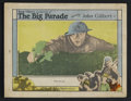"Movie Posters:War, The Big Parade (MGM, 1925). Lobby Card (11"" X 14""). War. StarringJohn Gilbert, Renee Adoree, Hobart Bosworth and Claire McD..."