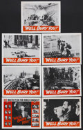 """Movie Posters:Documentary, We'll Bury You (Columbia, 1962). Title Lobby Card (11"""" X 14"""") and Lobby Cards (6) (11"""" X 14""""). Documentary. Narrated by Will... (Total: 7 Items)"""