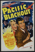 "Movie Posters:Mystery, Pacific Blackout (Paramount, 1941). One Sheet (27"" X 41""). MysteryThriller. Starring Robert Preston, Martha O'Driscoll, Phi..."