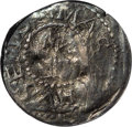 Colonials: , 1652 3PENCE Oak Tree Threepence--Damaged--NCS. VF Details. Crosby3-A2, Noe-25, R.6. 14.8 grains. Most of the tree and the ...
