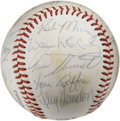 Autographs:Baseballs, 1980 San Francisco Giants Team Signed Baseball. Manager DaveBristol led his 1980 San Francisco Giants squad led by such st...