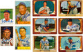 Autographs:Sports Cards, Signed 1950 - 1955 Bowman Baseball Card Collection (46). ...