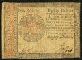 Colonial Notes:Continental Congress Issues, Continental Currency January 14, 1779 $80 Very Fine.. ...