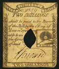 Colonial Notes:Massachusetts, Massachusetts 1779 2s Fine-Very Fine, COC.. ...