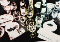 Andy Warhol (1928-1987) After the Party, 1979 Screenprint in colors on Arches 88 paper 21-3/4 x 3