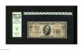 National Bank Notes:Missouri, Joplin, MO - $10 1929 Ty. 1 Conqueror First NB Ch. # 13162. This isa popular bank due to its unusual title. PCGS Very...