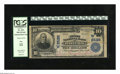 National Bank Notes:Nebraska, Hastings, NE - $10 1902 Plain Back Fr. 633 The First NB Ch. # (W)2528. Red stamped signatures are a highlight of this $1...