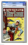 Bronze Age (1970-1979):Western, Bat Lash #7 (DC, 1969) CGC NM+ 9.6 Off-white to white pages. Nick Cardy cover and art. Overstreet 2005 NM- 9.2 value = $35. ...