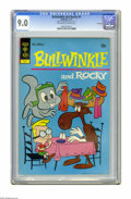 Bronze Age (1970-1979):Cartoon Character, Bullwinkle #4 File Copy (Gold Key, 1972) CGC VF/NM 9.0 Off-white towhite pages. Overstreet 2005 VF/NM 9.0 value = $55; NM- ...