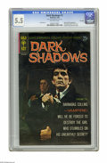 Silver Age (1956-1969):Horror, Dark Shadows #1 File Copy (Gold Key, 1969) CGC FN- 5.5. Photo frontand back covers featuring Barnabas Collins. Poster inclu...