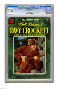 Golden Age (1938-1955):Miscellaneous, Dell Giant Comics Davy Crockett, King of the Wild Frontier #1 File Copy (Dell, 1955) CGC FN/VF 7.0 Off-white pages. Fess Par...