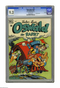 Golden Age (1938-1955):Funny Animal, Four Color #273 Oswald the Rabbit -- File Copy (Dell, 1950) CGC NM-9.2 Off-white pages. Walter Lantz art. Overstreet 2005 N...