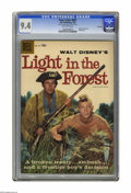 Silver Age (1956-1969):Adventure, Four Color #891 Light in the Forest -- File Copy (Dell, 1958) CGC NM 9.4 Off-white pages. Fess Parker photo cover. Overstree...