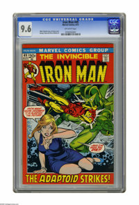 Iron Man #49 (Marvel, 1972) CGC NM+ 9.6 Off-white pages. Gil Kane cover. George Tuska and Vince Colletta art. Overstreet...
