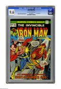 Bronze Age (1970-1979):Superhero, Iron Man #66 (Marvel, 1974) CGC NM+ 9.6 Off-white to white pages. Thor appearance. Gil Kane cover. George Tuska and Mike Esp...