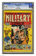Golden Age (1938-1955):War, Military Comics #10 (Quality, 1942) CGC FN+ 6.5 White pages. WillEisner cover. Bob Powell art. Overstreet 2005 FN 6.0 value...