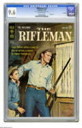 Silver Age (1956-1969):Western, The Rifleman #13 File Copy (Gold Key, 1962) CGC NM+ 9.6 Off-whitepages. Photo cover. Overstreet 2005 NM- 9.2 value = $125. ...