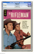 Silver Age (1956-1969):Western, The Rifleman #18 File Copy (Gold Key, 1964) CGC NM 9.4 Cream tooff-white pages. Photo cover. Overstreet 2005 NM- 9.2 value ...