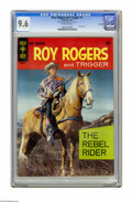Silver Age (1956-1969):Western, Roy Rogers and Trigger #1 File Copy (Gold Key, 1967) CGC NM+ 9.6Off-white pages. Photo cover. Overstreet 2005 NM- 9.2 value...