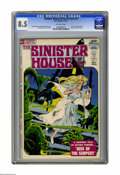 Bronze Age (1970-1979):Horror, Sinister House of Secret Love #4 (DC, 1972) CGC VF+ 8.5 Off-whitepages. Last issue before title changed to Secrets of Sin...