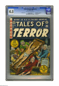 Golden Age (1938-1955):Horror, Tales of Terror Annual #3 (EC, 1953) CGC VG+ 4.5 Off-white to whitepages. Vault-Keeper, Crypt-Keeper, and Old Witch bondage...