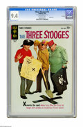 Silver Age (1956-1969):Humor, Three Stooges #16 File Copy (Gold Key, 1964) CGC NM 9.4 Off-white pages. Photo cover. Overstreet 2005 NM- 9.2 value = $130. ...