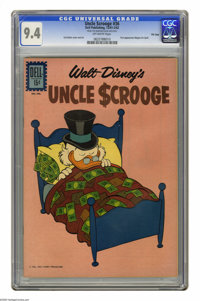 Uncle Scrooge #36 File Copy (Dell, 1962) CGC NM 9.4 Off-white pages. First appearance of Magica De Spell. Carl Barks cov...