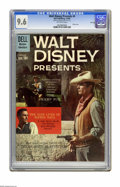 Silver Age (1956-1969):Adventure, Walt Disney Presents #4 File Copy (Dell, 1960) CGC NM+ 9.6 Off-white pages. Photo cover. Overstreet 2005 NM- 9.2 value = $65...