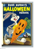 Golden Age (1938-1955):Miscellaneous, Dell Giant Comics Bugs Bunny Halloween Parade #1-4 Bound Volume (Dell, 1953-56). These are Western Publishing file copies th...