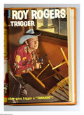 Silver Age (1956-1969):Western, Roy Rogers & Trigger #109-120 Bound Volume (Dell, 1957). Theseare Western Publishing file copies that have been trimmed and...