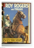 Silver Age (1956-1969):Western, Roy Rogers & Trigger #121-132 Bound Volume (Dell, 1958-59).These are Western Publishing file copies that have been trimmed ...