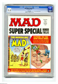 Magazines:Mad, Mad Special #12 Gaines File pedigree (EC, 1974) CGC NM 9.4 Whitepages. Includes Nostalgic Mad #2. This is currently the hig...