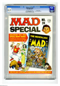 Magazines:Mad, Mad Special #24 Gaines File pedigree (EC, 1977) CGC FN+ 6.5Off-white to white pages. Includes Nostalgic Mad #6. Overstreet ...