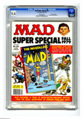 Magazines:Mad, Mad Special #28 Gaines File pedigree (EC, 1979) CGC NM 9.4Off-white pages. Contains Nostalgic Mad #7. This is currentlythe...