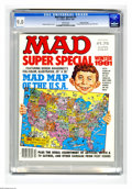 Modern Age (1980-Present):Humor, Mad Special #37 Gaine File pedigree (EC, 1981) CGC VF/NM 9.0 Whitepages. Includes Mad pictorial map of the USA. Sergio Arag...